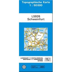 Schweinfurt 1 : 50 000 (L5926)