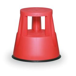 Kunststoff-tritthocker, rot