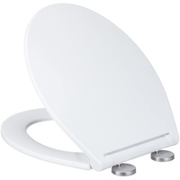 Relaxdays WC-Sitz Toilettendeckel mit Absenkautomatik,