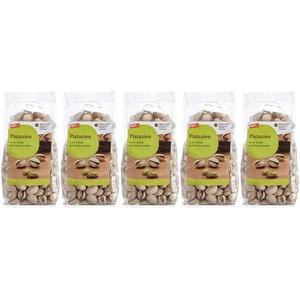 tegut... Pistazien in der Schale geröstet & gesalzen, 5er Pack (5 x 250 g)