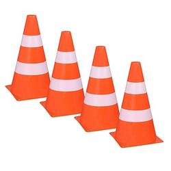 4 Idena Spielzeug-Pylone   orange