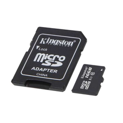 Kingston 16GB microSDHC UHS-I Card Class 10 Speicherkarte mit Adapter