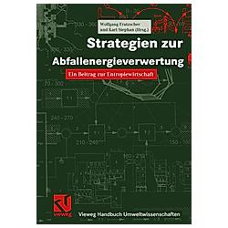 Strategien zur Abfallenergieverwertung - Buch