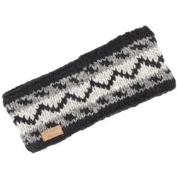 Guru-Shop Stirnband Stirnband aus Wolle - grau
