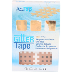 GITTER Tape AcuTop 3x4 cm 120 St.