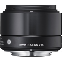 Sigma 19mm F2,8 DN (A) Micro Four Thirds schwarz