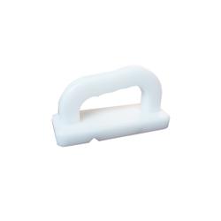 SCHNEIDER Schneidebretthobel, Weißer Hobel aus PE-HD, 1 Stück