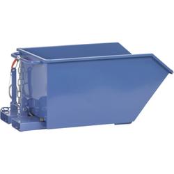 bis 750 kg. für Schüttgüter zum selbsttätigen Abkippen auch extrem leichter Güter bei völliger Entle