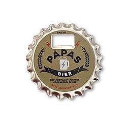 Bieröffner/Untersetzer mit Magnet -