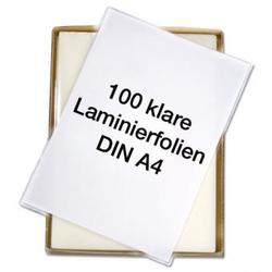 Laminierfolien A4 - klar, 150 mic. - Antistatisch