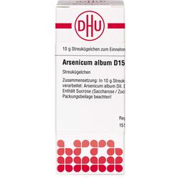 ARSENICUM ALBUM D 15 Globuli 10 g
