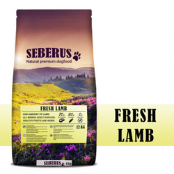 Seberus Fresh Lamb - natürliches, getreidefreies Hundefutter 2 x 12 kg