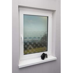 Fensterfolie Tile, mydeco, halbtransparent 90 cm x 200 cm