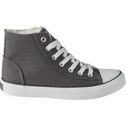 Schuh gefüttert, grau, Gr. 34 - 34 - grau