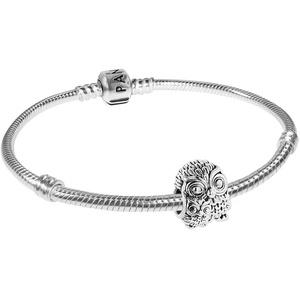 Pandora 75616 Armband Eulenfamilie Silber 925, 19 cm