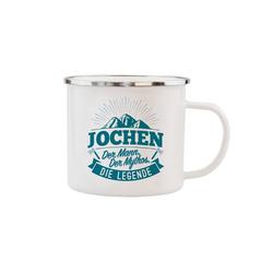HTI-Living Becher Echter Kerl Emaille Becher Jochen