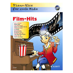 Piano-Hits für coole Kids - FILM HITS inkl. CD