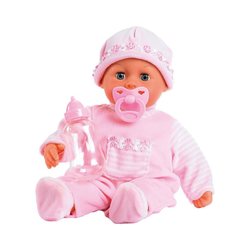 Bayer Babypuppe Babypuppe First words baby, rosa, 38 cm