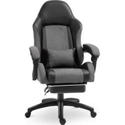 Vinsetto Bürostuhl mit Fußstütze 65 x 69 x 115-122 cm (BxTxH)   Drehstuhl Chefsessel Schreibtischstuhl Büromöbel