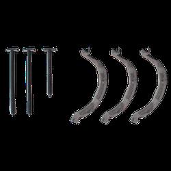 Thule 889-5 Adapter auf Vierkantprofil für Fahrradträger ProRide 598
