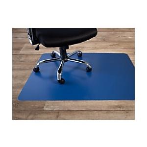Bodenschutzmatte Floordirekt Pro Hartböden Dunkelblau Polypropylen 750 x 1200 mm