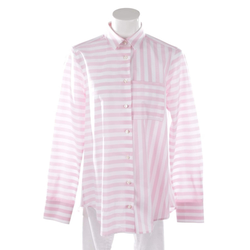 Soluzione Damen Bluse pink / weiß, Größe 38, 5084669