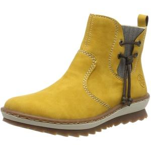 Rieker Damen Z8691 Chelsea Boots, Gelb (Honig/leinen / 68 68), 36 EU