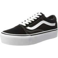 VANS Old Skool Platform black/white 35
