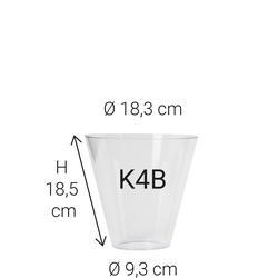 Echtglas K4B