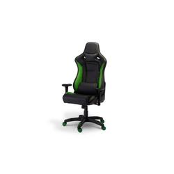 ebuy24 Gaming-Stuhl Garry Bürostuhl Gamer Stuhl schwarz und grün.