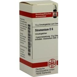 STRAMONIUM D 6 Globuli 10 g