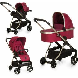 iCoo Kombi-Kinderwagen Acrobat XL Plus Trio Set Diamond Ruby, ; Kinderwagen