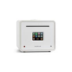 NUMAN Unison Retrospective Edition – All-in-One Stereoanlage: CD-Player, Internetradio, Receiver & Verstärker Verstärker weiß