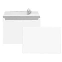 25 Briefumschläge C5, ohne Fenster, weiß