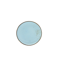 Creatable Dessertteller Nature Collection in light blue, 21 cm