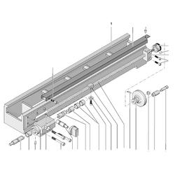 PROXXON 24002-02-01 Maschinenbett für Drehmaschine PD 250/E