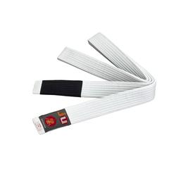 BJJ Kindergürtel weiß (Größe: 260, Farbe: Weiß)