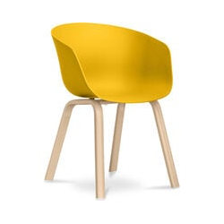 Hey Chair Skandinavisches Design - Mattes Gelb