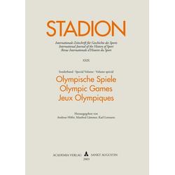 Olympische Spiele als Buch von