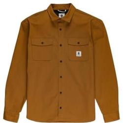 Element - Builder Ls Repreve Gold Brown - Hemden - Größe: M