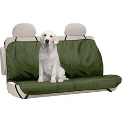 Berger & Schröter 31804 Hundeschutzdecke Polyester Grün Rücksitz