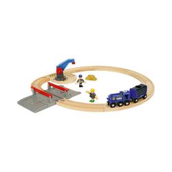 BRIO® Spielzeugeisenbahn-Set Polizei Goldtransport-Set