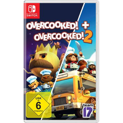 OVERCOOKED + OVERCOOKED! 2 Double Pack Nintendo Switch USK: 6