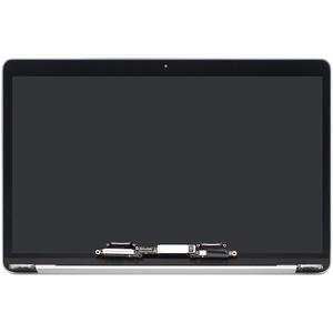 FTDLCD® 13.3 Zoll LED LCD Display Screen Komplett Assembly für MacBook Pro 13 Retina A1706 mid 2017 (Silver)