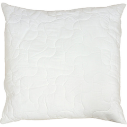 Kissen BAMBOO, Naturfaser, 80 x 80 cm weiß