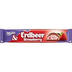 Mondelēz Milka Riegel Choco Erdbeer 36er Pack