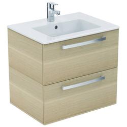 Ideal Standard Waschtisch Eurovit Plus (Set), 2 Auszüge weiß