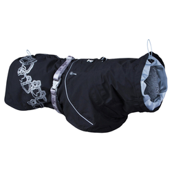 Hurtta Regenmantel Drizzle schwarz, Größe: 20 cm