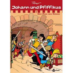 Johann & Pfiffikus 01. Der Page des Königs als Buch von Peyo