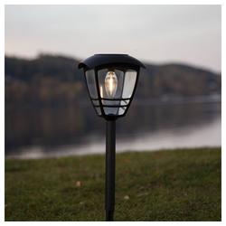 click-licht LED Solarleuchte LED Solarleuchte Felix in Schwarz 450 mm, Solarleuchten